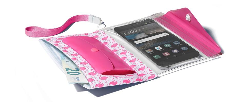 Bescherm smartphone en pasjes met Voyager Pochette