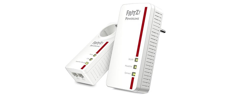 Win een FRITZ!Powerline 1260E-adapter van AVM