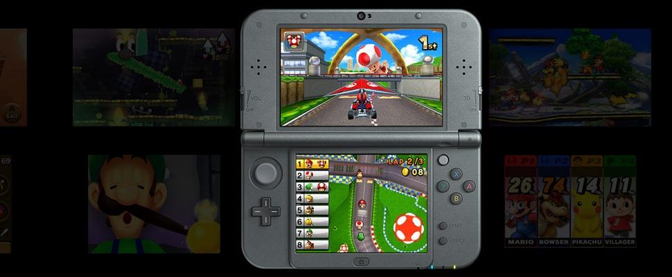 Nintendo brengt snel nieuwe Nintendo 3DS uit