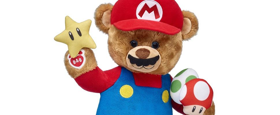 Mario nu ook al knuffelbeer