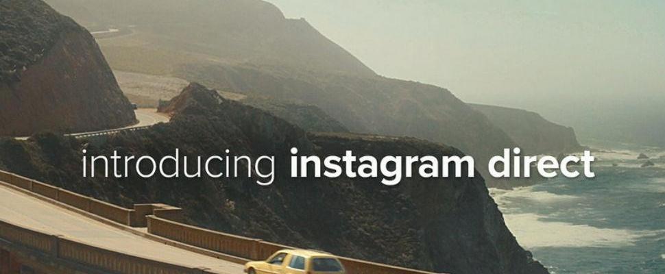 Privéfoto's sturen met nieuwste versie Instagram