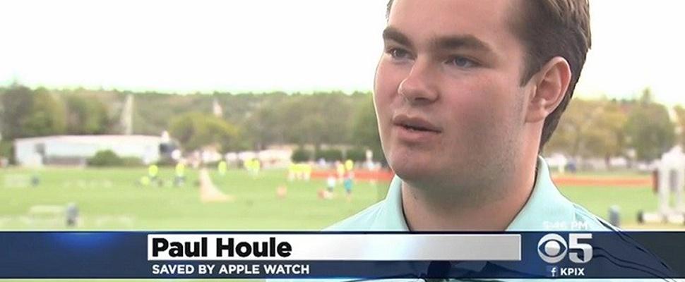'Apple Watch redt leven van tiener'