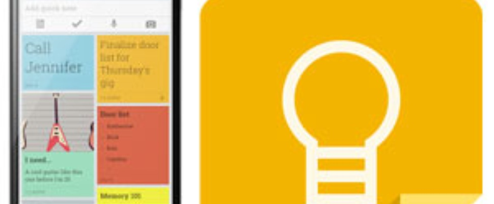 Google Keep notitie-app