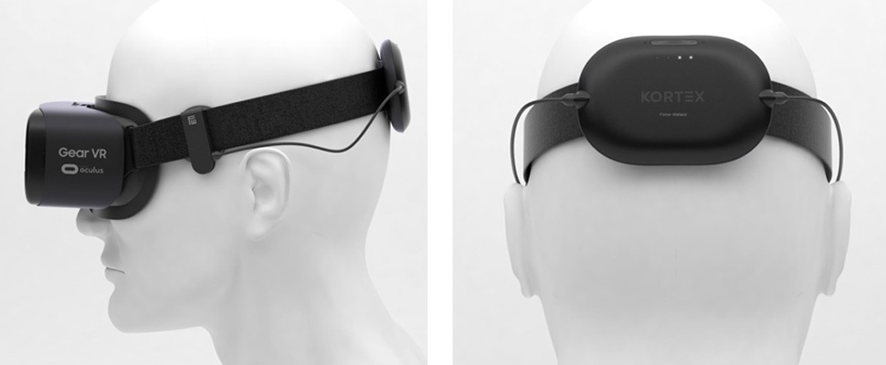 Wegdommelen met Kortex-slaapband voor vr-headset