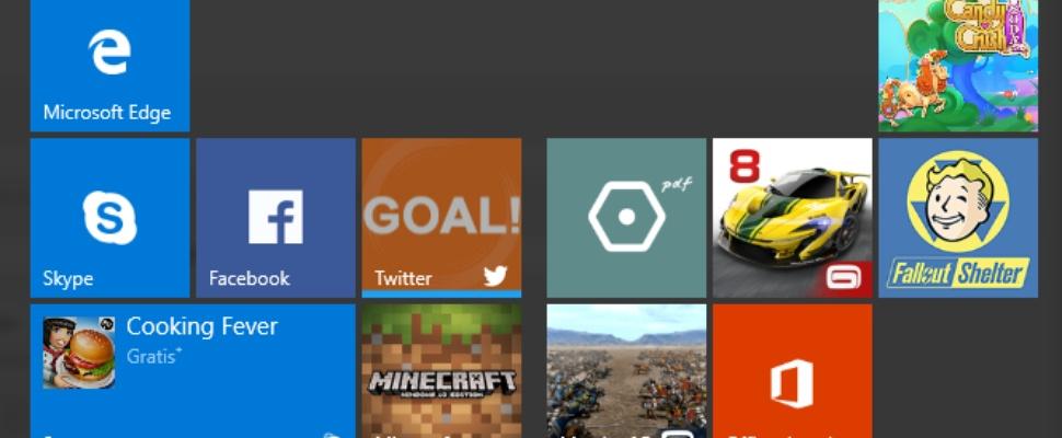 Ieder half jaar grote update voor Windows 10
