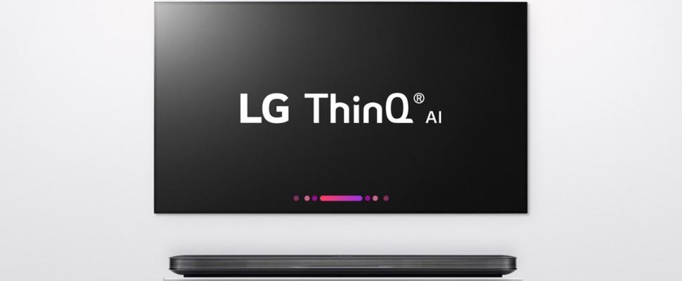 Smart-tv's LG worden nog slimmer