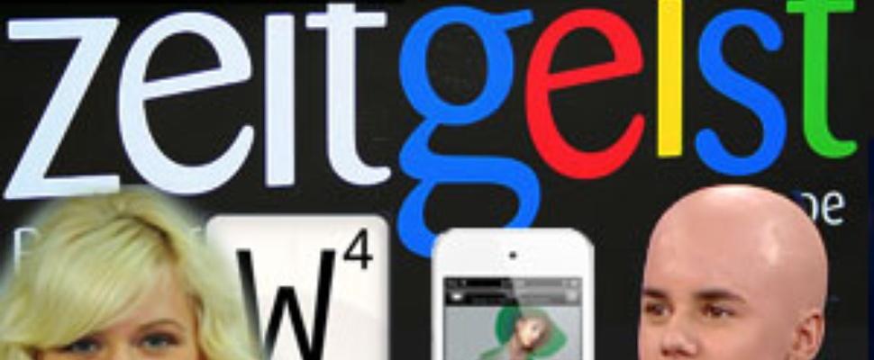 Google Zeitgeist 2011: Populairste zoektermen Nederland