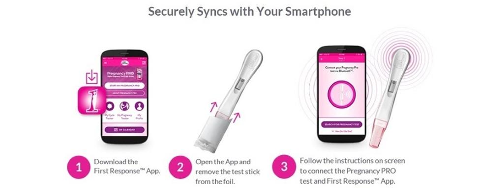 Zwangerschapstest? Daar is een app voor!