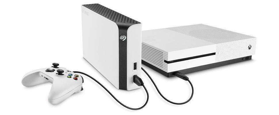 8 TB extra ruimte met Xbox One-schijf Seagate