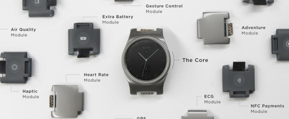 Doe-het-zelf-smartwatch Blocks populair op Kickstarter