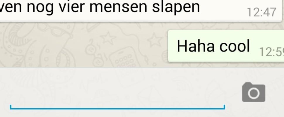 Zo zet je de blauwe vinkjes op WhatsApp uit