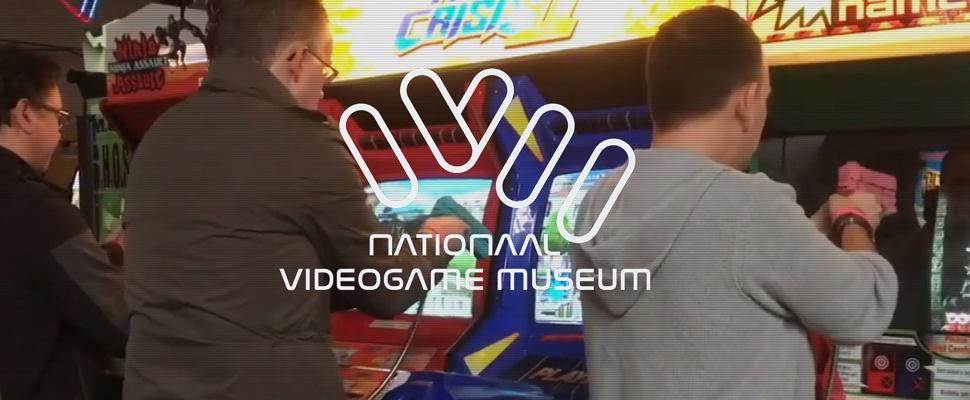 Nationaal Videogame Museum opent zijn deuren
