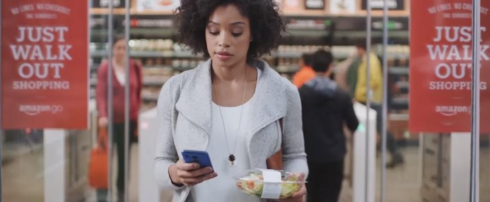 Futuristische Amazon-supermarkt open voor publiek