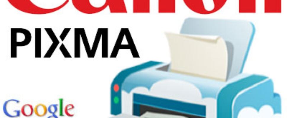 Google Cloud Print op Canon Pixma printers