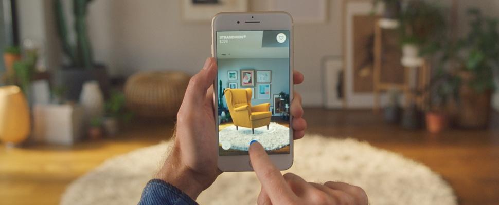 richt je huis virtueel in met ar app ikea place computer idee. Black Bedroom Furniture Sets. Home Design Ideas