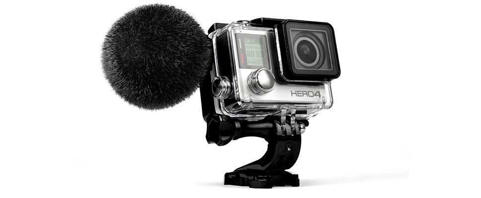 Sennheiser en GoPro onthullen MKE 2 elements-microfoon