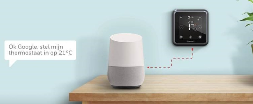 Honeywell ondersteunt Google Home in smart home-producten