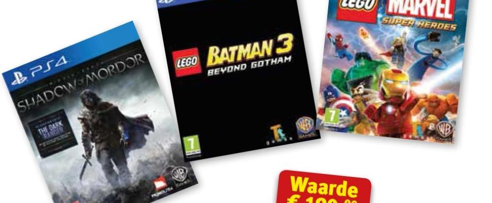 WIn: Een PS4-gamespakket