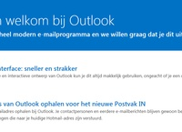 Hotmail wordt Outlook.com