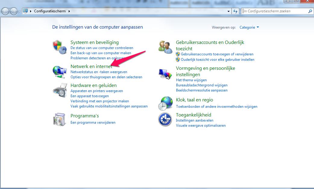 Je Internetverbinding Delen Op Windows 7 Computer Idee