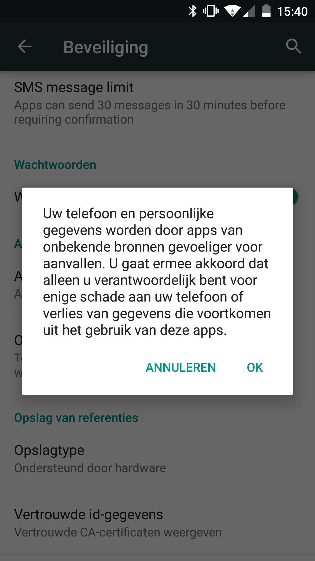 app voor aan staan apps