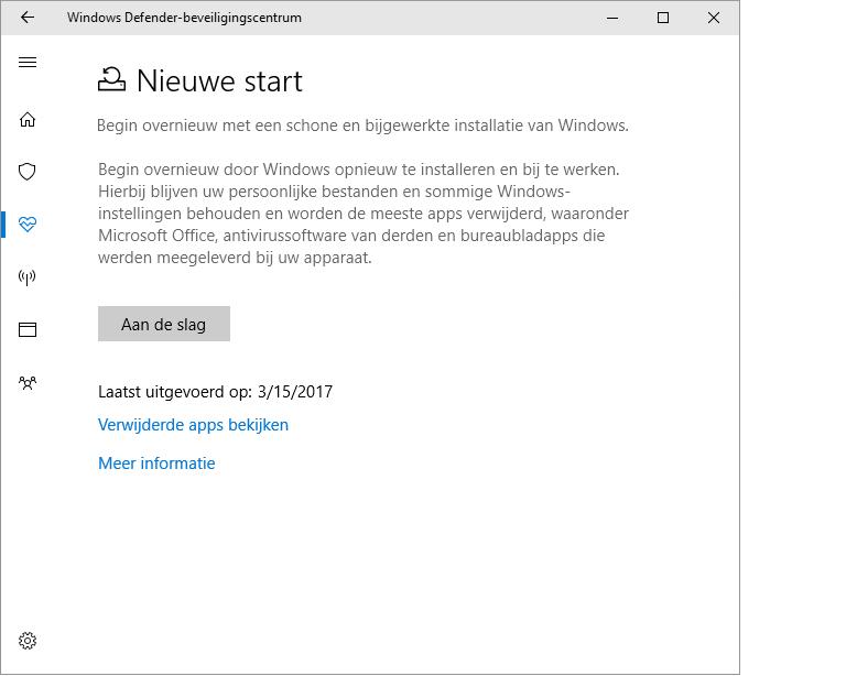 windows 10 blijft updaten