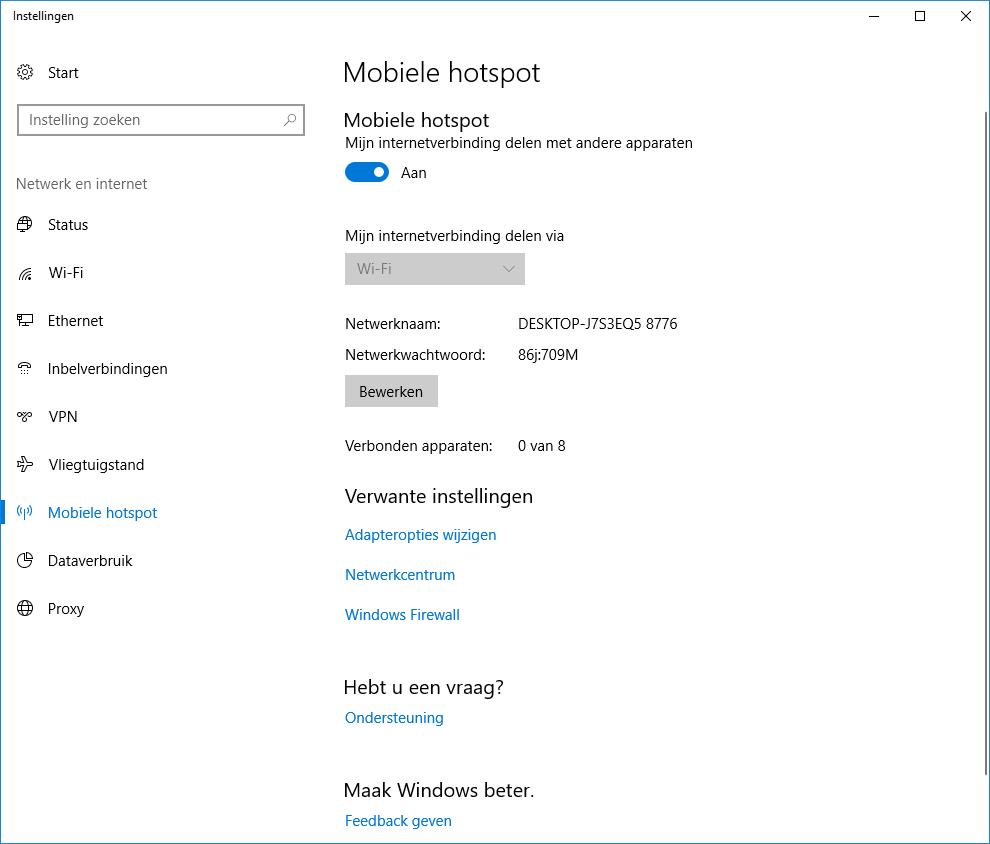 wachtwoord voor laptop instellen