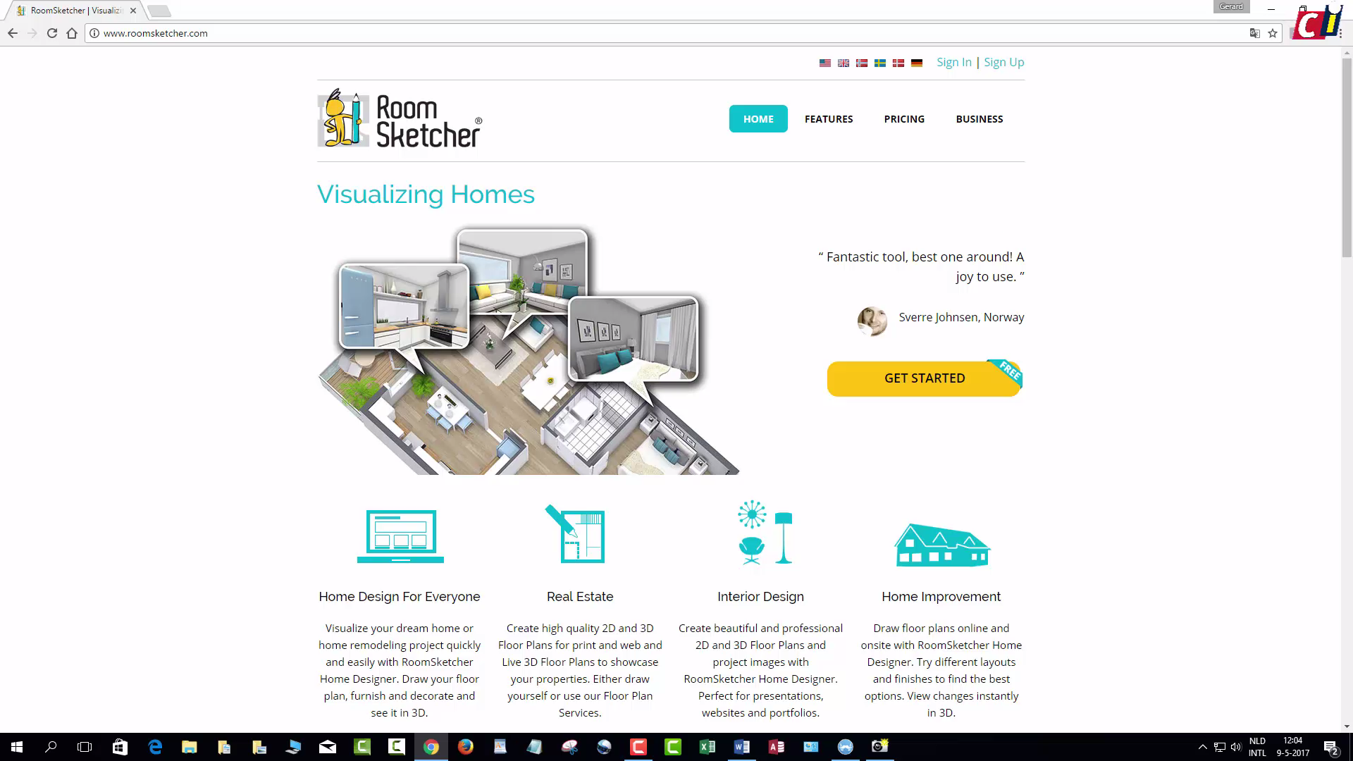 RoomSketcher: plattegrond maken | Computer Idee