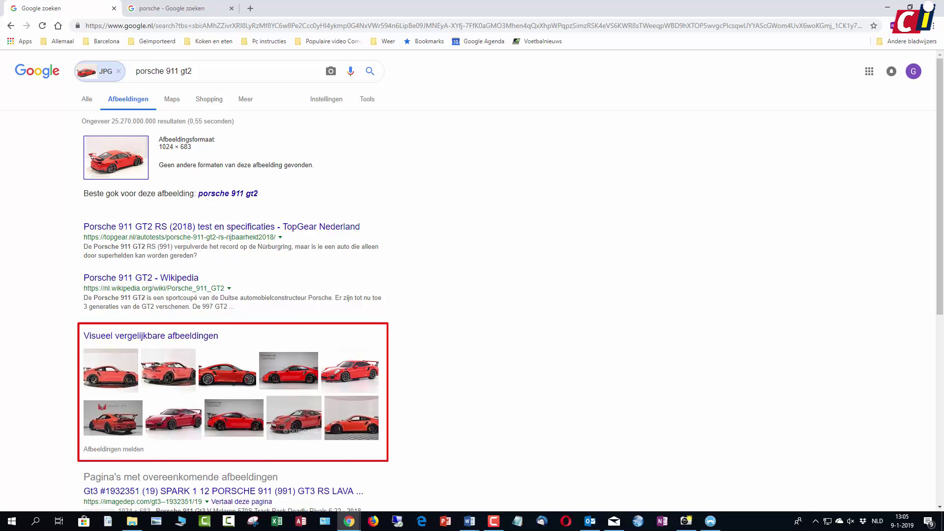 Afbeeldingen Zoeken Windows 7