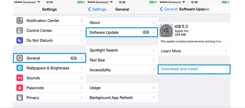 how to update software on iphone ios 8 update zorgt voor trage wifi en slechte verbinding 19252