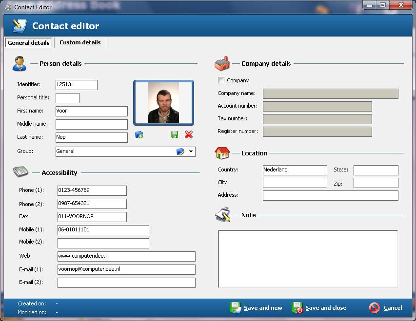 Free Address Book gratis downloaden | Computer Idee