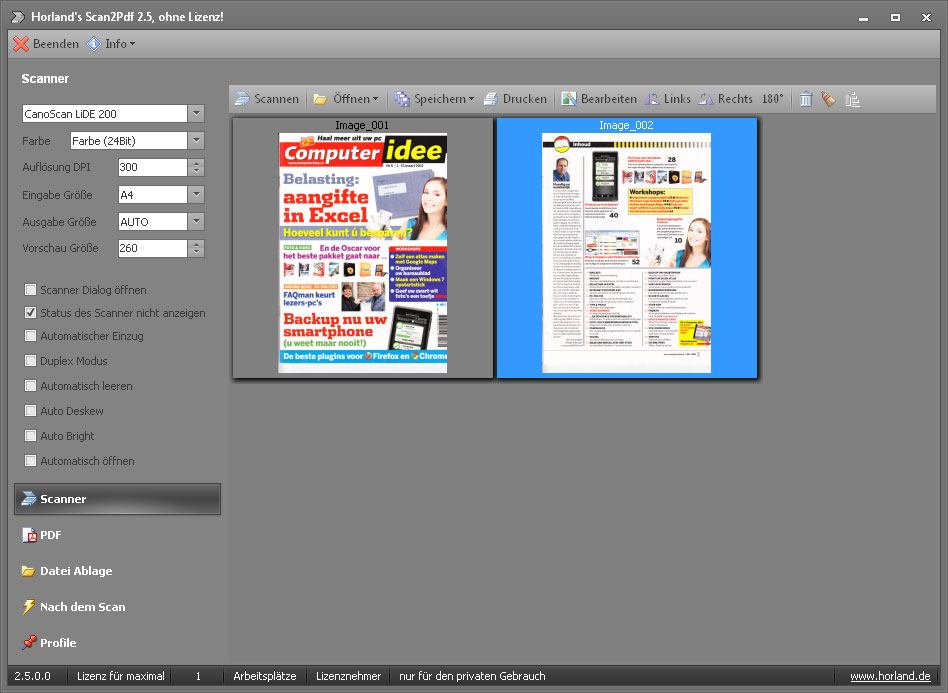 Scan2pdf Gratis Downloaden