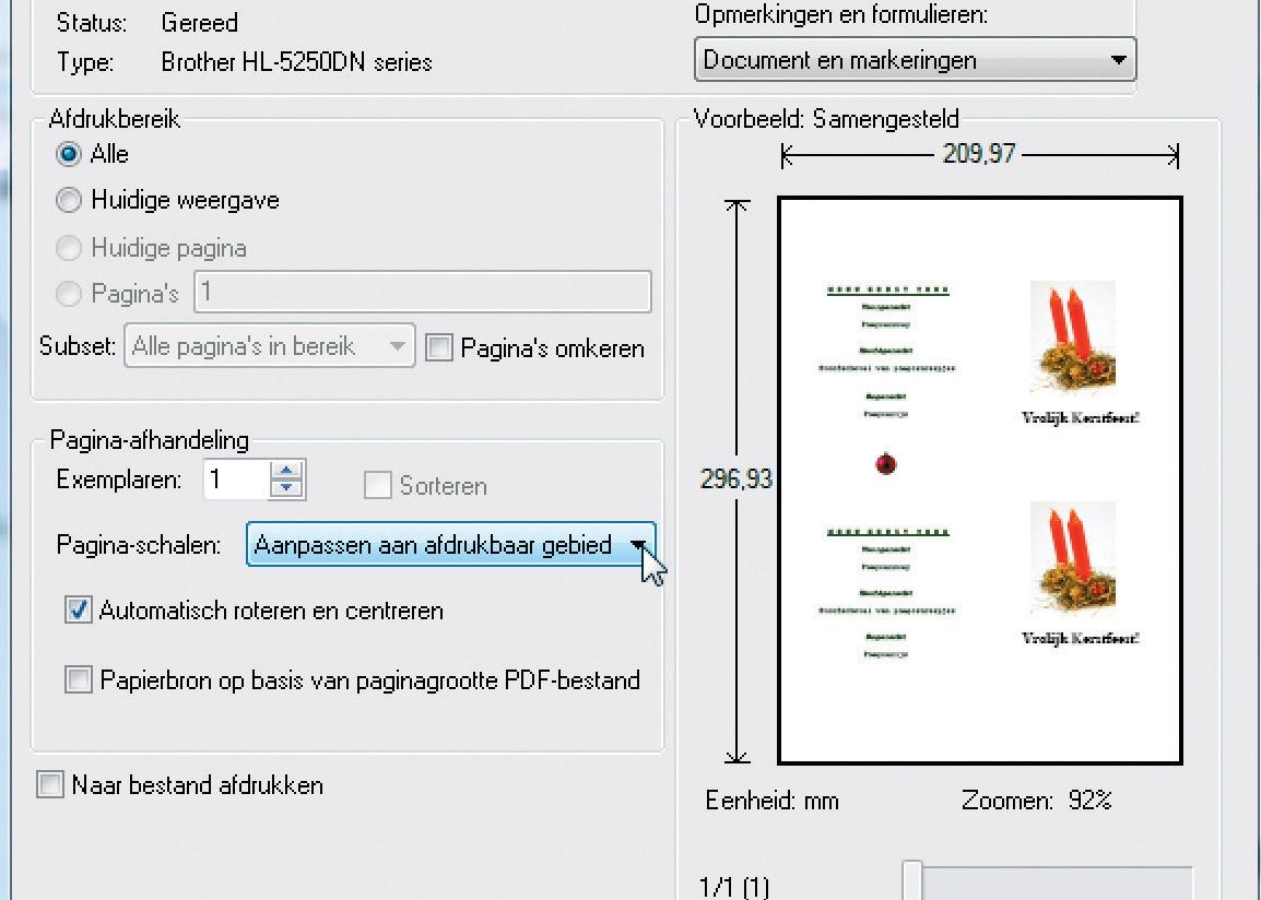 Bedwelming Maak online een (kerst)menukaart | Computer Idee #HS52