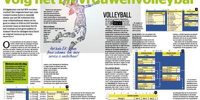 Uit het blad - Volg het EK vrouwenvolleybal