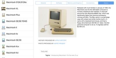 Mactracker - Interessante geschiedenis van alle Apple-producten