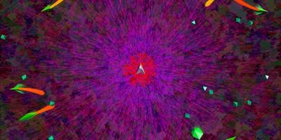 Spheres of Chaos - Psychedelische versie van Asteroids