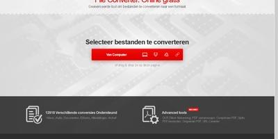 Convertio - Converteer allerlei soorten bestanden