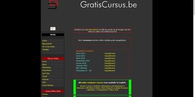 Gratis Cursus - Een enorme collectie Nederlandstalige computercursussen
