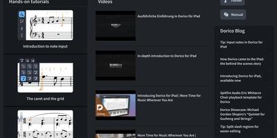 Dorico - Bladmuziek maken op iPad
