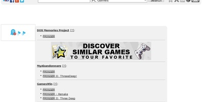 OldGamesFinder - vind games van weleer