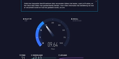 Speedtest - Meet je internetsnelheid