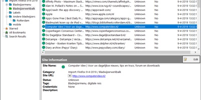 StorURL - la uw favoriete websites op in een centrale database