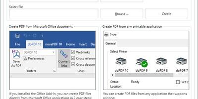doPdf - Afdrukken naar pdf