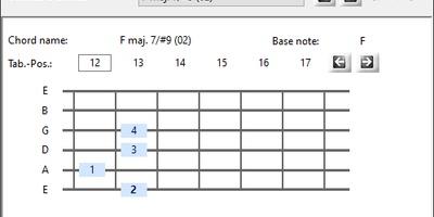Alternate Chord - Leer gitaarakkoorden en -ladders