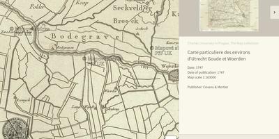 Old Maps Online - Verken de geschiedenis met oude kaarten