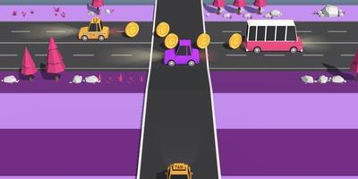 Traffic Run! - Baan u een weg door het drukke verkeer