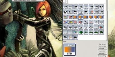 Mypaint gratis downloaden computer idee for Zelf tekenen op de computer