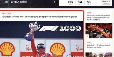 Formula 1 -  Altijd het laatste Formule 1-nieuws met de officiële app