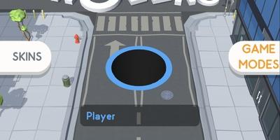 Hole.io - Online tag: Een spel om door de grond te zakken