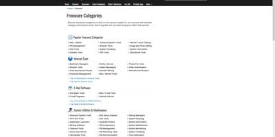 Snapfiles - Een riante en netjes geordende bibliotheek vol freeware